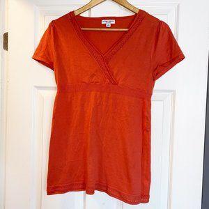 Liz Lange Knit Maternity Top sz Medium